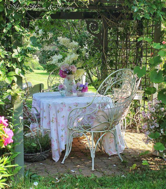 1000 id es sur le th me repas romantiques sur pinterest for Jardin romantique francais