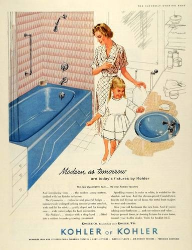 133 best Kohler Ads images on Pinterest | Kohler bathroom, Vintage ...