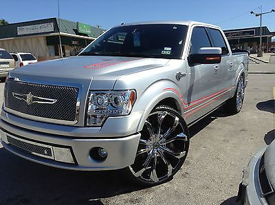 F150 supercrew on 26 rims | 2011 Ford F-150 Harley-Davidson Edition Crew Cab Pickup 4-Door 6.2L