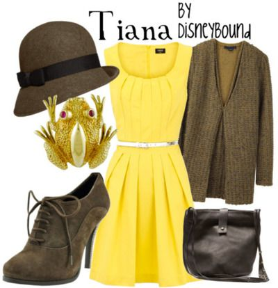 Tiana  by Disneybound