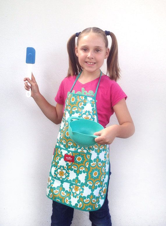 Easy Clean Apron Crafts Back to School Ready Art Apron