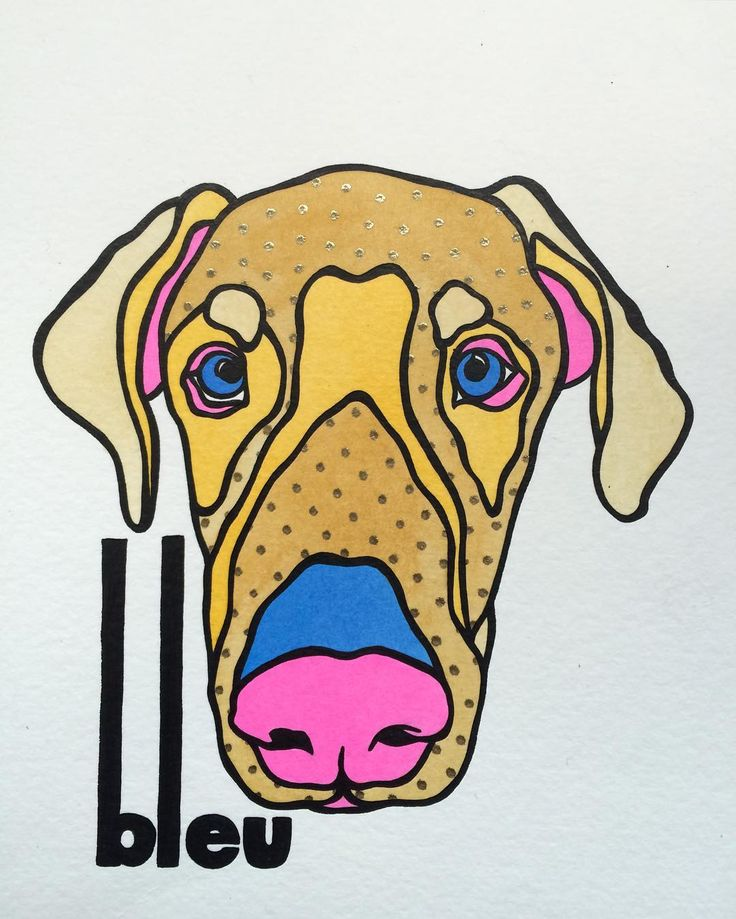 Bleu! #bleu #doberman #dobe #dobelove #alldoberman #albino #albinodoberman #dobermanportrait #dobermanpainting #dog #dogs #dogsofinstagram #dogpainting #dogportrait #pooch #pup #puppy #pet #pets #petpainting #petportrait #portrait #painting #paint #acrylic #liquidacrylic #pawpculture #dobermansofinstagram by pawpculture