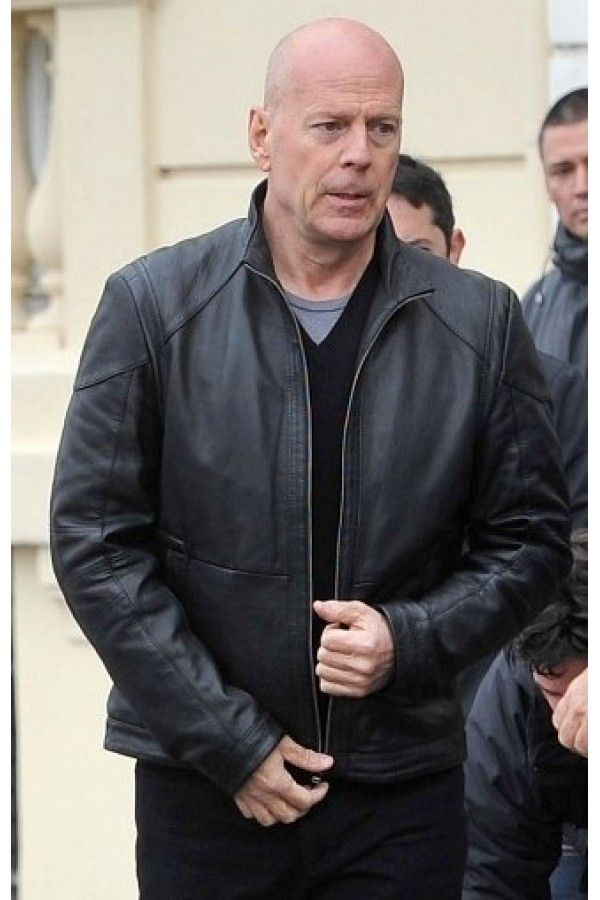 Genuine Looper Bruce Willis Leather Jacket  	The Looper Bruce Willis jacket is a great piece of movie memorabilia for those who not only enjoyed watching the movie, but also took a lesson from it. Would you close your loop? In the film, Bruce Willis stars as Older Joe. Joe is a looper – he work
