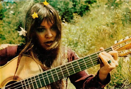 Melanie Safka, who at 16 sang Candles In the Rain at Woodstock, August, 1969