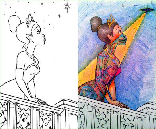 Corrupted Coloring Books Got Dark In A Hurry 32 Photos