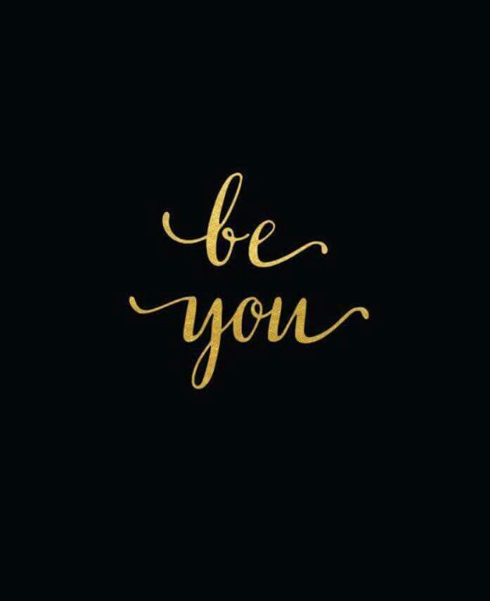 quote in black and gold be you black and gold pinterest