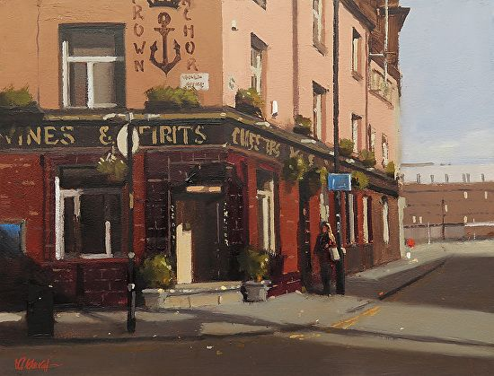 Michael John Ashcroft - Pass the Anchor NQ Manchester- Oil - Painting entry - January 2017   BoldBrush Painting Competition