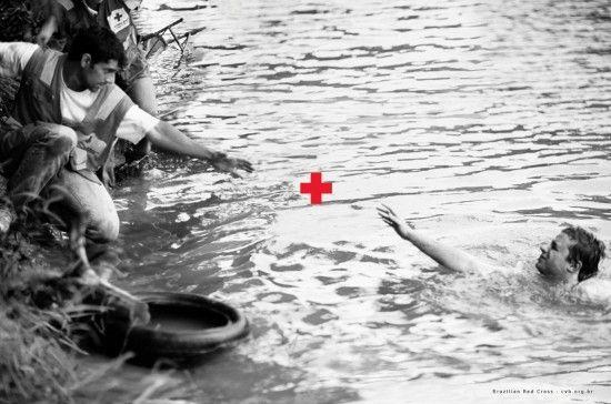 Campaña Cruz Roja en Brasil