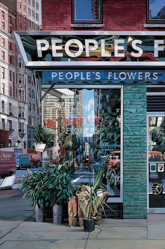 MFKopp - adreciclarte:   Richard Estes - People's Flowers,...