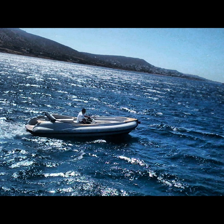 Cruising with the SCANNER 6,20m with inboard engine 230hp Stayer turbo Diesel.