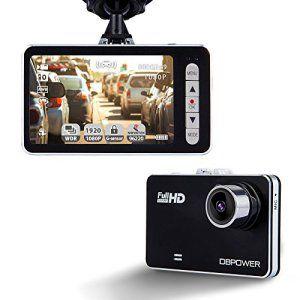 DBPOWER Caméra de Voiture 2.7″, Dash Cam Caméscope Enregistreurs DVR Vidéo de Voiture avec 120° HD 1080P, Accéléromètre Capteur-G Vision…