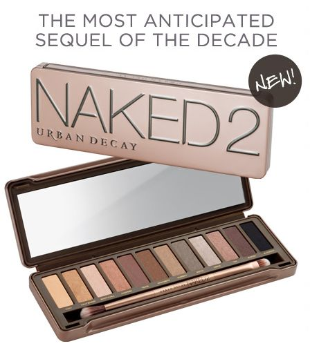 Urban Decay Naked 2...Ive been looking for this!: Eyeshadows Palettes, Free Ships, Make Up, 12 Colour, Urban Decay, Eye Shadows, Colors, Makeup, Decay Naked