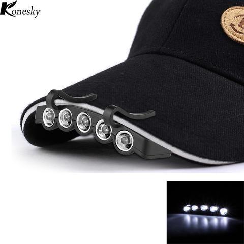 Cap Clip-On LED Headlights