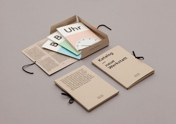 Minimalist and Clean Brochure Designs