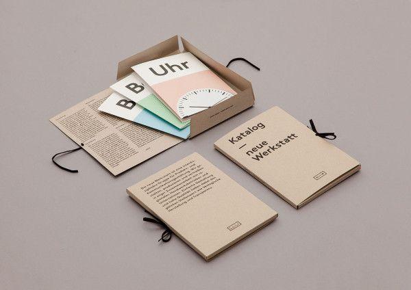 Minimalist and Clean Brochure Designs