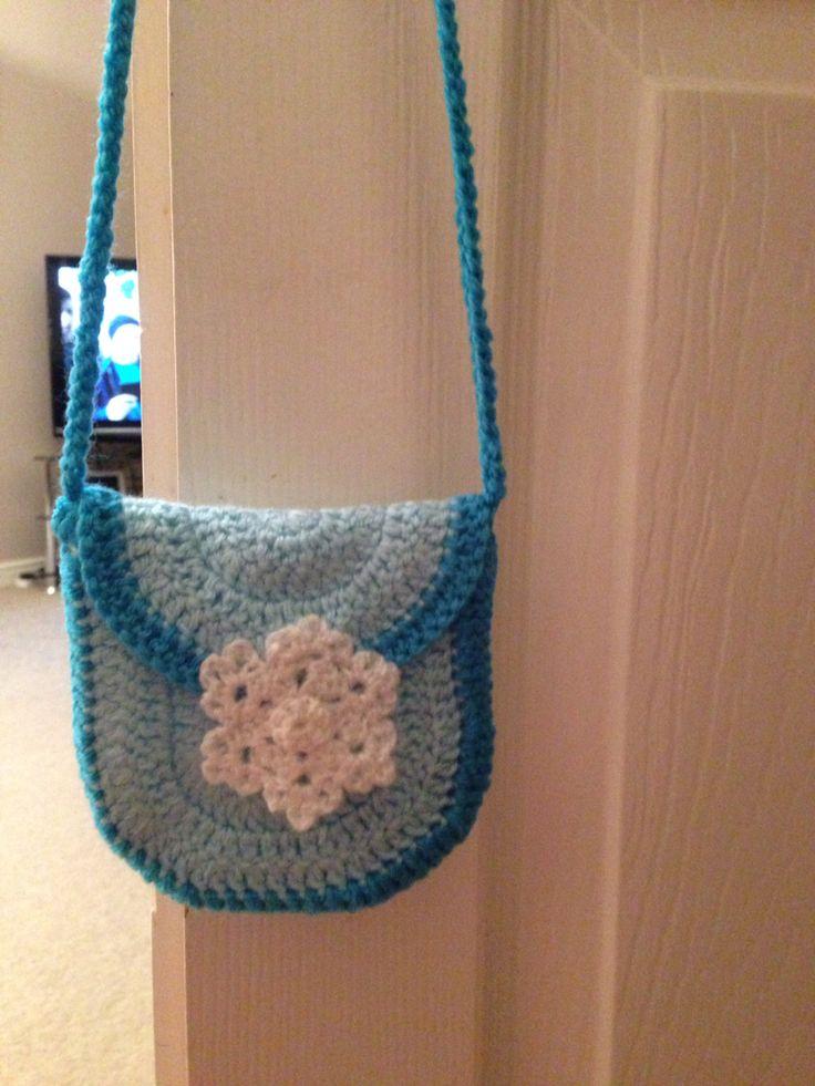 Crocheted frozen bag