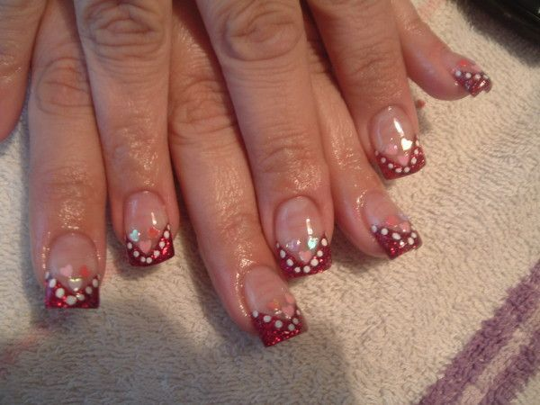 20 pretty nail designs for valentines day - Nail Designs For Valentines Day