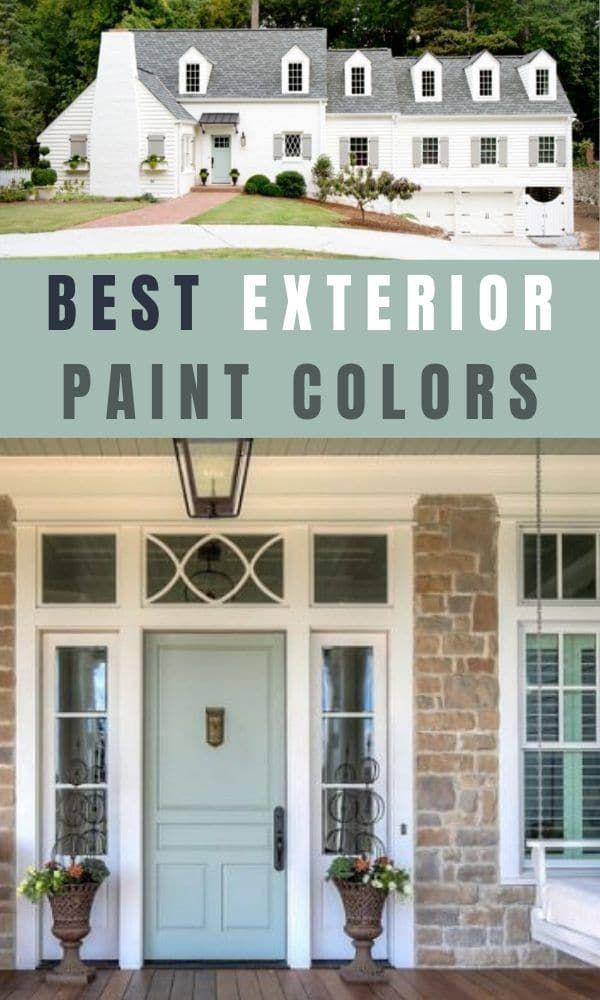 10 Popular Sherwin Williams Exterior Paint Colors House Paint Exterior White Exterior Houses Brick Exterior House