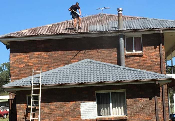 Along With Gutter Repair And Replacement We Also Do The Installation And Repairing Of Downpipes This Is Another Vi Gutter Repair Roof Restoration Roof Repair