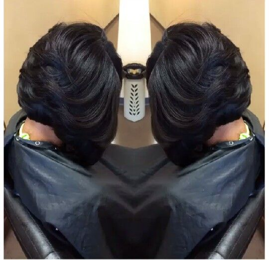 Love the layers on this bob