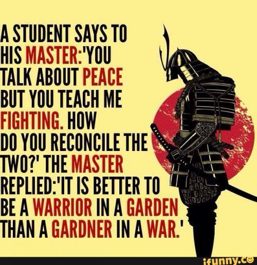 To preserve peace, prepare for war… – Liberal Logic 101