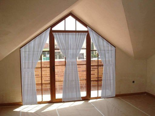 Cortinas Para Ventanas Triangulares Decoraci 243 N R 250 Stica