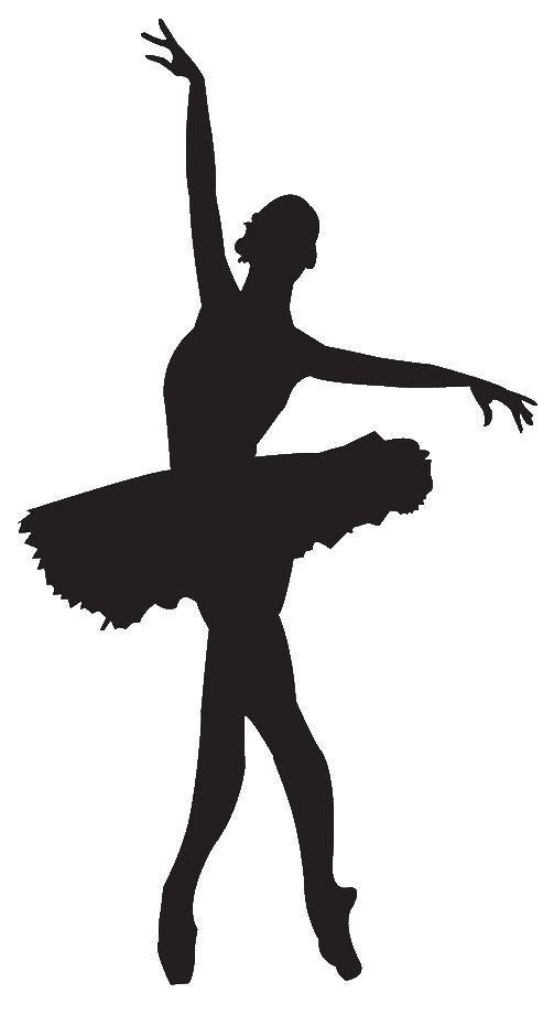 5 Ballerina's Dancing Vinyl Decal Sticker Great for your Computer or Bedroom Wall