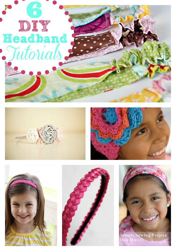 688 best cool crafts images on pinterest activities activities these easy diy headband tutorials are all quick projects you can do yourself solutioingenieria Images