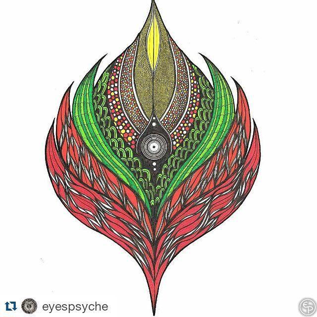 #Repost artwork karya @eyespsyche by kelasgambar