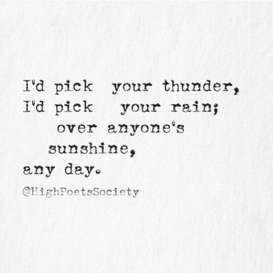 And...I will...everyday...pick YOU! You're my B!!