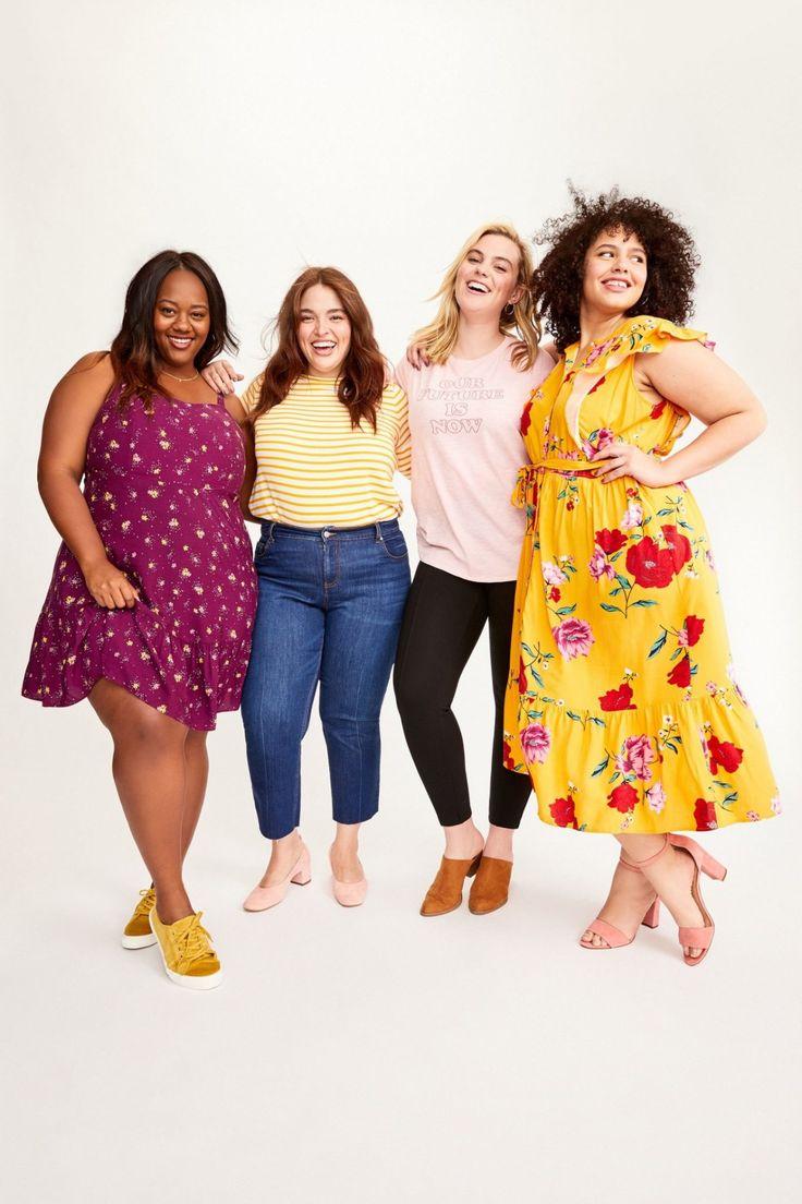 Stylish Plus-Size Fashion Ideas – Designer Fashion Tips Casual Plus Size Outfits, Stylish Plus Size Clothing, Plus Size Clothing Stores, Plus Size Fashion For Women, Curvy Outfits, Mom Outfits, Plus Size Dresses, Plus Size Women, Lane Bryant