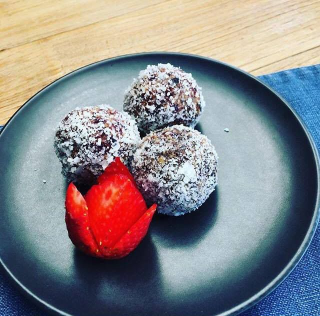 Yummmmyyyy bliss balls at @cafecouscous #food #foodporn #yum #instafood #TagsForLikes #yummy #amazing #instagood #photooftheday #sweet #dinner #lunch #breakfast #fresh #tasty #foodie #delish #delicious #eating #foodpic #foodpics #eat #hungry #foodgasm #hot #foods