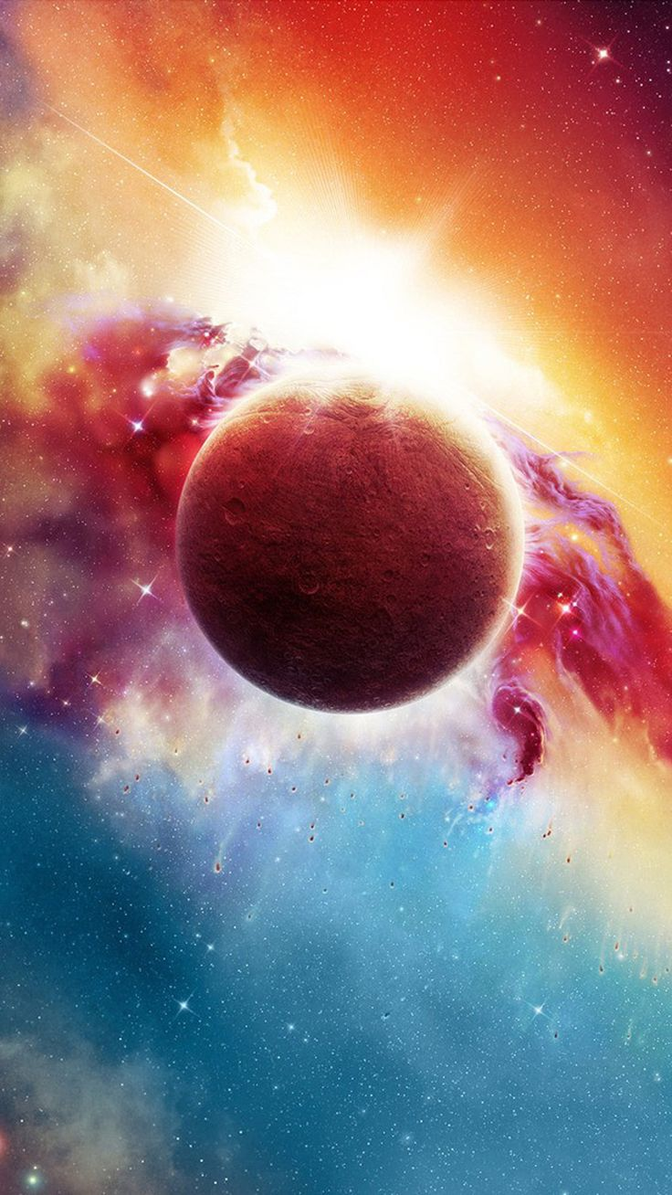 TAP AND GET THE FREE APP! Space Planet Colorful Astronomy Cool Science Amazing Multicolored ...