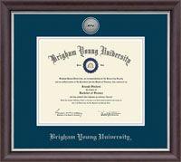 Brigham Young University Utah Diploma Frame 164.00
