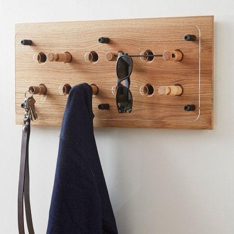 Large Moodboard Coat Rack by Roon & Rahn designed in Denmark #MONOQI
