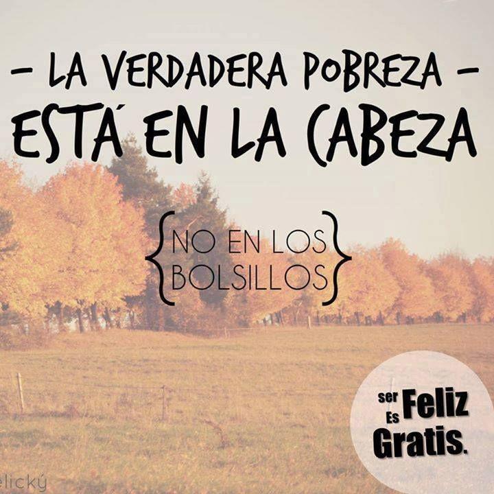 Ser Feliz Es Gratis #ImagenDelDia