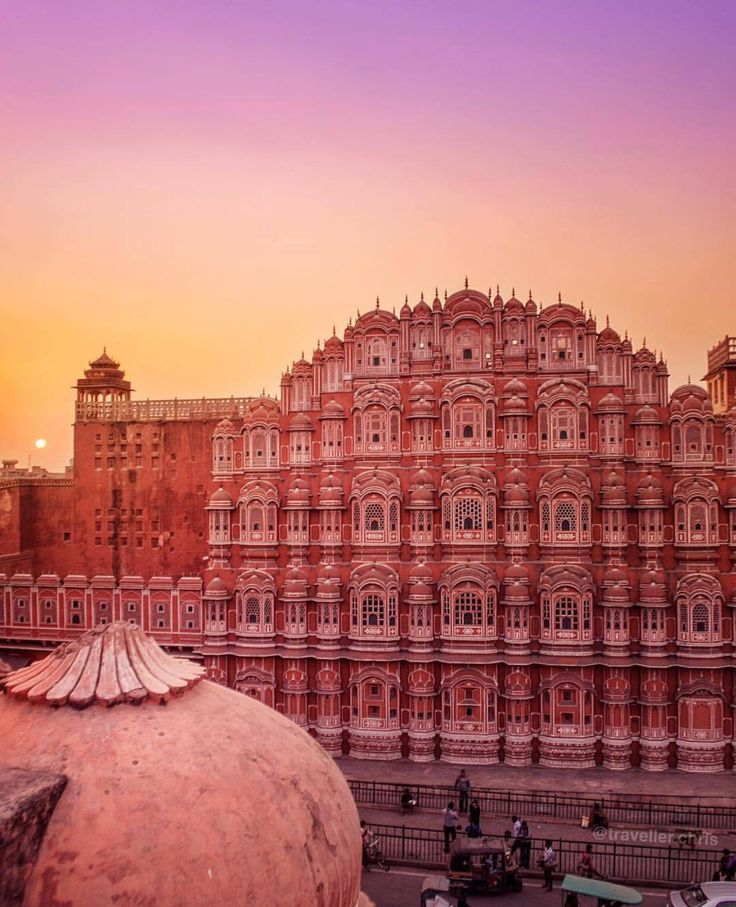 Hawa mahal, Pink palace, Jaipur, The Pink City, India
