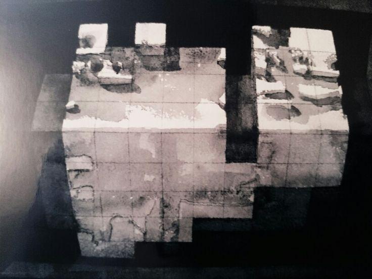 Jacek Jaroszewski -bez tytułu -crayon, watercolour 2008