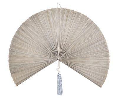 "Настенный декор ""Веер""  - бамбук, Д120хШ120 см"