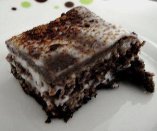 Bolo de Chocolate Nevado Dukan