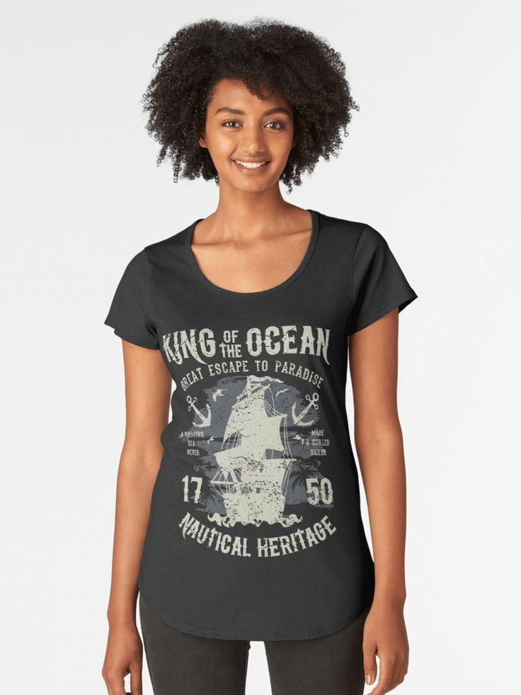 Diseño del Rey del Océano de Firman Syah / Un mar tranquilo nunca ha sido un marinero habilidoso. • Also buy this artwork on apparel, stickers, phone cases y more.