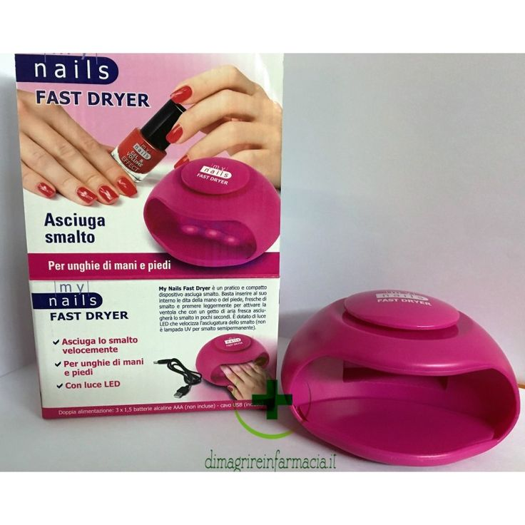 MY NAILS FAST DRYER - Farmacia del Mercato di Bosio DR. Giovanni e C. snc.