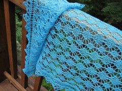 Large Diamond shawl from Victorian Lace Today (Jane Sowerby)