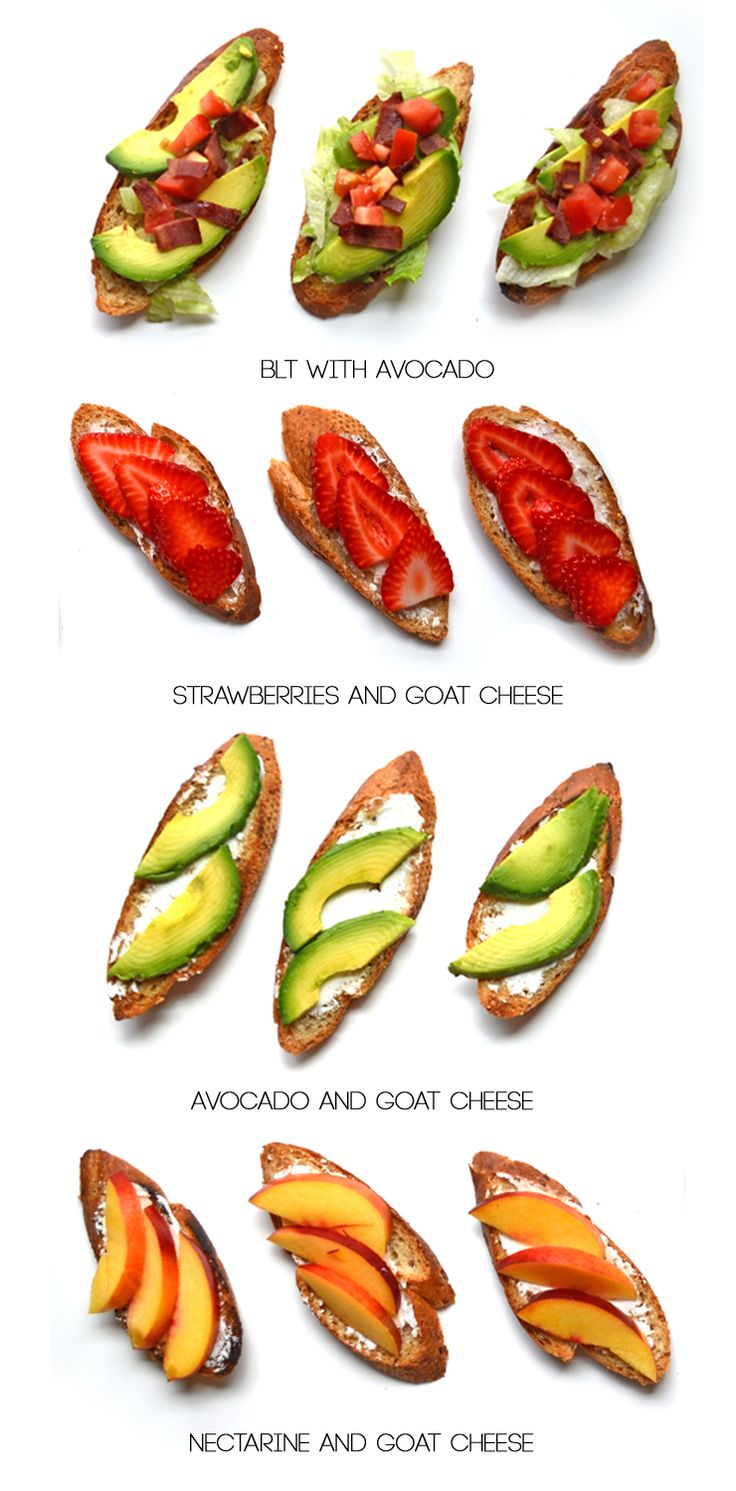 Crostinis are so yummy and so easy to throw together.
