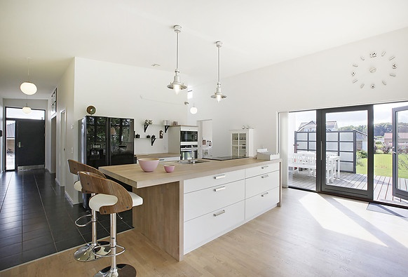 25 beste idee n over kookeiland krukken op pinterest mooie keuken barkrukken keuken en - Keuken met kookeiland table ...