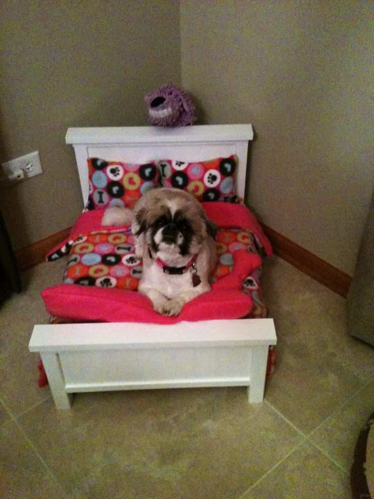 Farmhouse Dog Bed | Do It Yourself Home Projects from Ana White