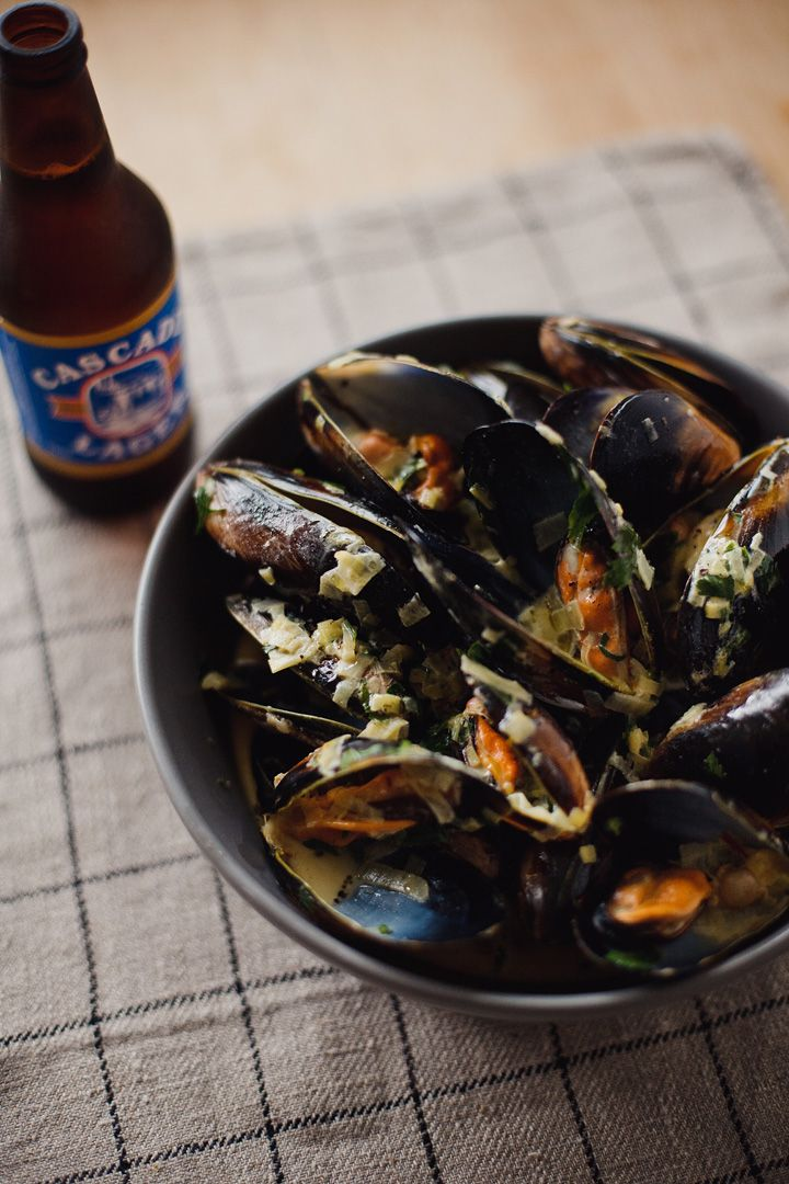This recipe for mussels is doing nothing to help my current craving!!  From Island Menu... Tasmanian food blog.