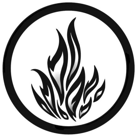 Dauntless symbol. this would be a good tattoo becuase if for some reason i the future i regretted it, it would just be fire.