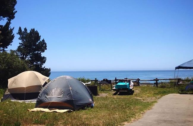 New Brighton State Beach Camping Reservations Day Use 93 Acre Park With Bluff Top