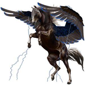 blue♥rider, Pegasus Lusitano Gestippeld grijs #5628590 - Howrse